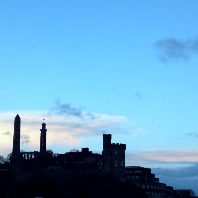 Calton Hill by Laura Anderson