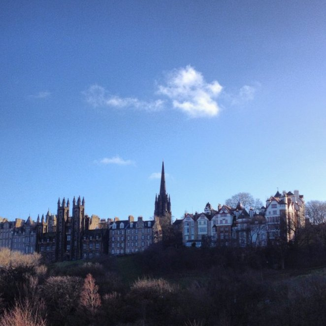 Edinburgh Old Town by Laura Anderson