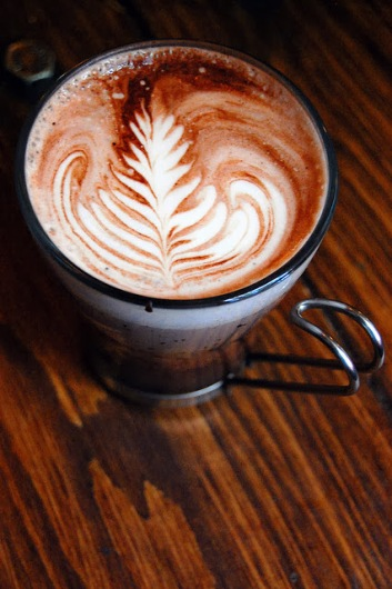 Lavender Hot Chocolate from Artisan Roast