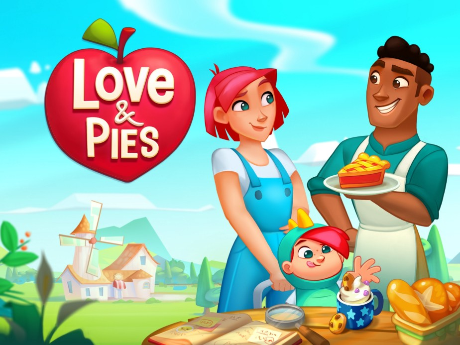 Love & Pies – launchedglobally!